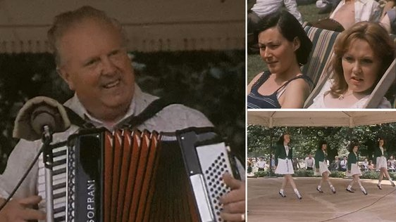 Music and Dance in St Stephen's Green, Dublin (1976)