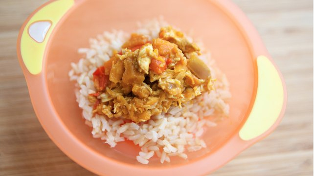 Tasty and savoury Chicken Curry