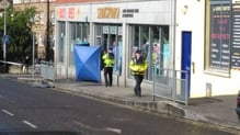 A firearm was recovered close to the scene by gardaí and is being forensically examined