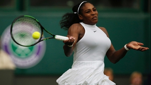 Serena Williams will face Germany's Annika Beck in the next round