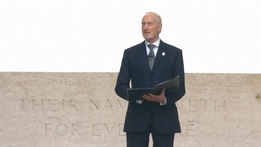 Battle of the Somme Commemoration - 'Aftermath' by Siegfried Sassoon, read by Charles Dance
