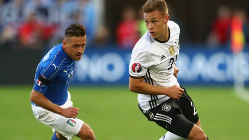 Germany now face either France or Iceland