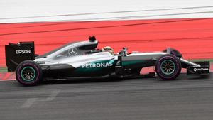 Lewis Hamilton was the fastest in practice at Monza