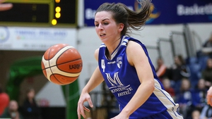 Aine McKenna shone for Ireland