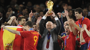 Vicente Del Bosque managed Spain to victory at the 2010 World Cup and Euro 2012