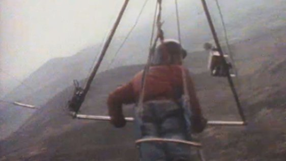 Hang Gliding at Mount Leinster (1976)