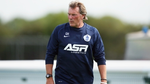 Hoddle during his role as first-team coach with QPR in 2014