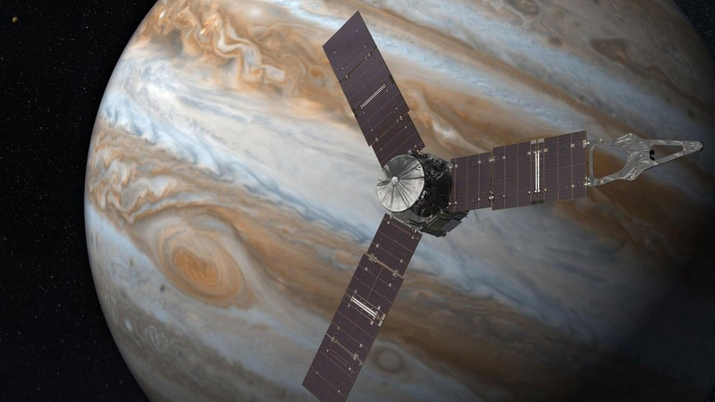 space probe juno arrives in orbit around jupiter juno s instruments and camera could provide insights into the history of the solar system