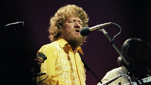 "Luke Kelly with The Dubliners in 1979: ""there are as many reasons to sing folk songs as there are songs and people who sing them"""