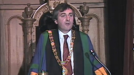Lord Mayor Bertie Ahern (1986)