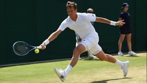 Tomas Berdych was a beaten finalist at Wimbledon back in 2010