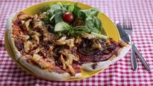Operation Transformation: BBQ chicken Pizza