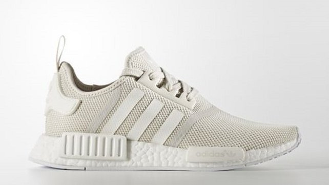The adidas NMD_R1 in talc white