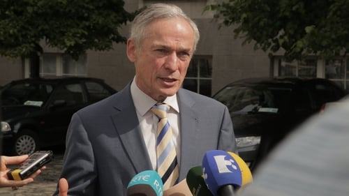 Education Minister Richard Bruton launched the International Education Strategy this morning