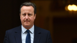 David Cameron's list was leaked to the Sunday Times