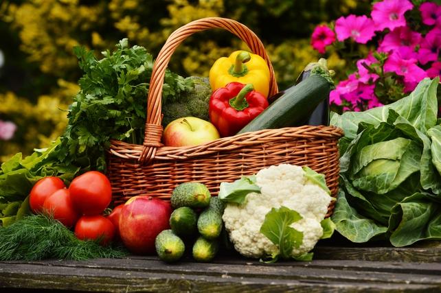 Healthy fresh veg from the garden!