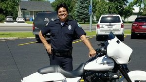 Estrada - Now a reserve police officer for the St Anthony Police Department in Idaho  Photo: Erik Estrada, Twitter