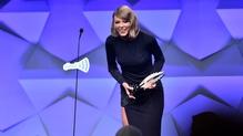 Taylor Swift at the GLAAD Media Awards