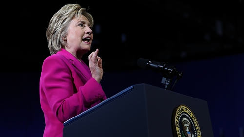 Hillary Clinton criticised Donald Trump for not releasing his tax return