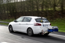 Testing a Peugeot for real-world fuel consumption figures