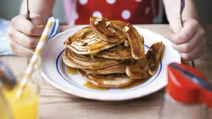 Banana Pancakes make for a great brunch!