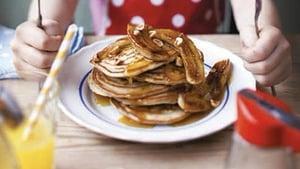 Banana Pancakes make for a great Brunch