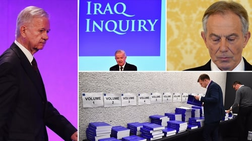John Chilcot said Tony Blair committed British troops to the 2003 invasion before peaceful options were exhausted