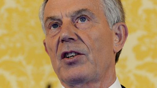 Tony Blair said he expresses 'more sorrow and regret than you will ever know'