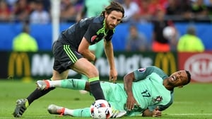 Joe Allen was included in the Euro 2016 team of the tournament