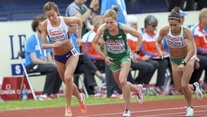 Fionnuala McCormack in action in Amsterdam