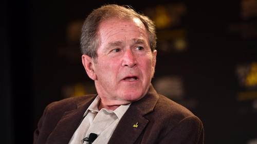 George W Bush was US President for two terms