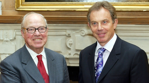 Hans Blix said he made his comments to Tony Blair in February 2003