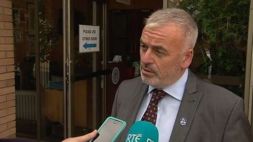 NBRU's Dermot O'Leary said Dublin Bus employees had not had a pay rise since 2008
