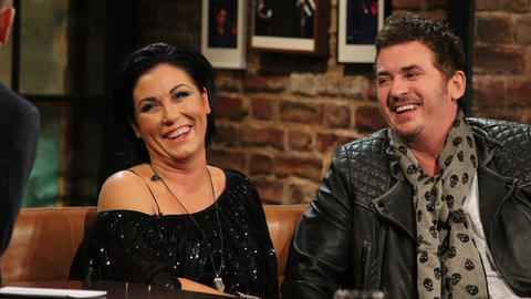 The Late Late Show Extras: Shane Richie and Jessie Wallace