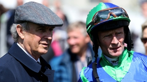 Jim Bolger and Kevin Manning landed the feature race at Leopardstown on Thursday evening