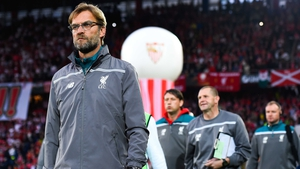 Jurgen Klopp led Liverpool to two cup finals last season