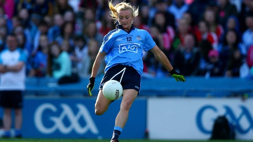 Carla Rowe was among the goals for Dublin