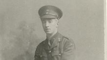 Thomas Gordon Fitzpatrick was killed in action on 6 September 1916 (Pic: Century Ireland)
