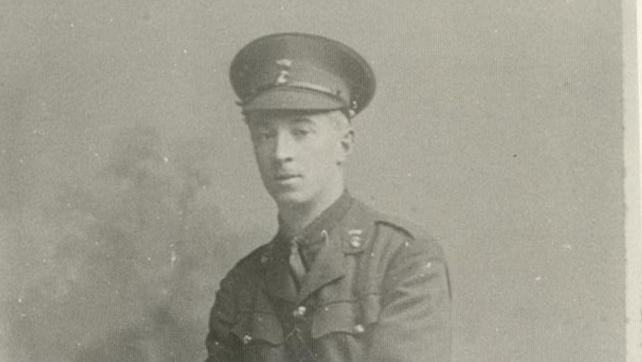 Thomas Gordon Fitzpatrick was killed in action on 6 September 1916 (Pic: Century Ireland)