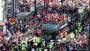 Wales stars welcomed home by huge crowd