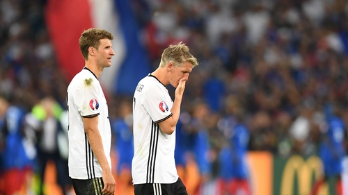 Germany bowed out to France at the semi-final stage