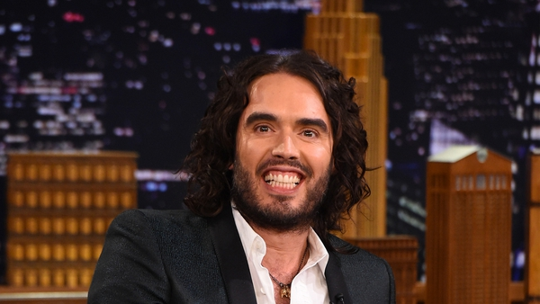 Russell Brand missed out on a boyband career back in the 90s