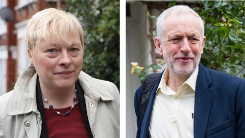 Angela Eagle said she would announce her leadership bid against Jeremy Corbyn on Monday