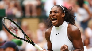 Serena Williams moves on to 22 grand slam titles