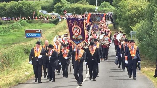 Orange Order parade Donegal