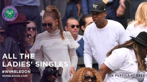 Beyonce and Jay Z on Centre Court