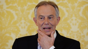 Tony Blair has defended the decision to oust Saddam Hussein