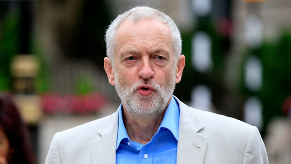 Jeremy Corbyn said he expected to be on the ballot paper