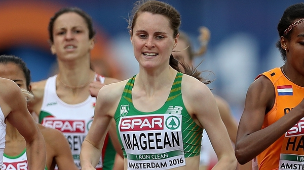 Ciara Mageean was among the medals in Amsterdam