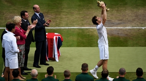 Andy Murray claimed his second Wimbledon title